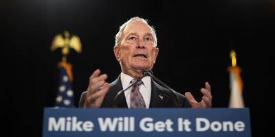 mike bloomberg once said taking too much money from the rich and giving it to the poor was a bigger problem than income inequality