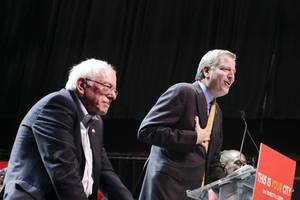 bill de blasio to endorse bernie sanders for president: report