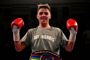 Jay Harris given two months by employers Amazon - to go and win WBC flyweight title