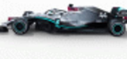 mercedes-amg reveals its race car for the 2020 f1 season