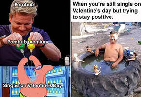41 Hilarious Valentine's Day Memes and Cards For Those You Love... Or Hate
