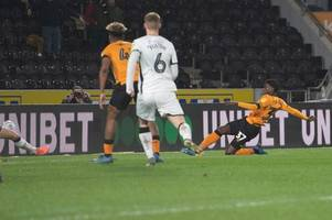 hull city 3-3 swansea city: lopes, maddison and wilks score but tigers pegged back three times