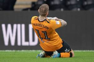 hull city verdict: tom eaves snatches late point in crazy eight-goal thriller with swansea