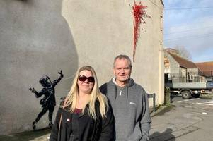 The man who woke up to a Banksy artwork on his Barton Hill house on his birthday