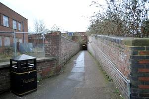 Woman inappropriately touched walking through Gloucester train station underpass