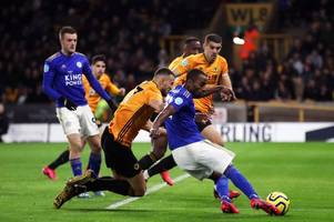 'barely touched the ball' - leicester city player ratings from goalless draw with wolves