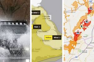 Full Storm Dennis warnings from Met Office, Environment Agency and Highways England for Gloucestershire