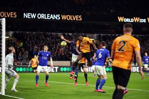 'what advantage is a shoe lace?' - wolves fans react after var rules out willy boly opener