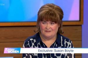 Viewers left cringing as Susan Boyle opens up on wild sex life on Loose Women