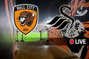 hull city vs swansea city live: kick-off time, tv details and breaking team news as swans aim for play-off boost