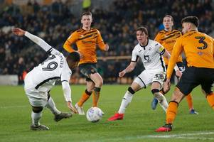 the chaotic swansea city player ratings as defence all over the shop but senior star backs up his words against hull city
