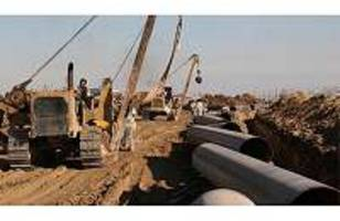 Protecting pipelines during land movements