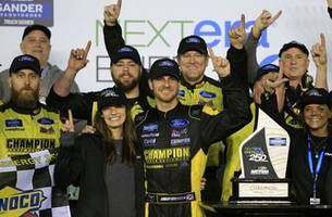 grant enfinger's winning truck move the right one