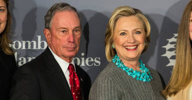 drudge scoop: mike bloomberg considering hillary clinton as running mate