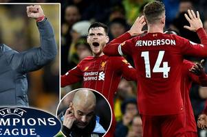 liverpool qualify for champions league as jurgen klopp reacts to man city ban
