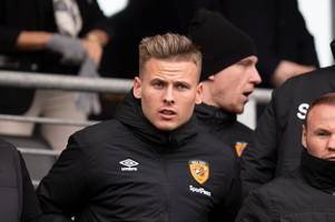 james scott targeting pre-season return but hull city given glimmer of hope on sidelined duo