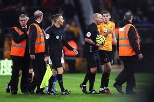 wolves captain conor coady reveals outcome of heated mike dean exchange