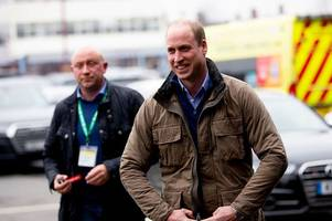 'You can't ask me that' - Prince William makes Aston Villa admission