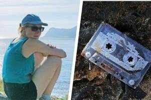 Woman reunited with mixtape she lost on holiday in the early 90s