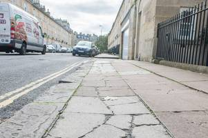 bath's pavements are 'unsightly', 'hazardous' and a 'disgrace'