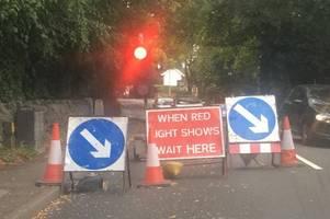 Roadworks planned on major roads across Moorlands in week ahead