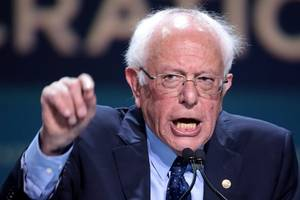 bernie sanders is not doing so hot