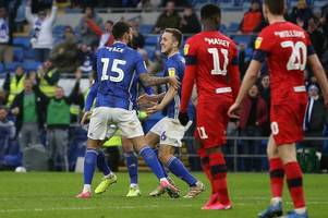 the cardiff city player ratings vs wigan as midfield maestro shows steel but striker misses glorious chance to win it