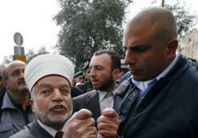grand mufti issues decree banning palestinians from supporting peace plan