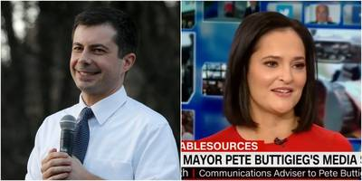 a senior adviser for pete buttigieg was accused of running a fake nigerian supporter account