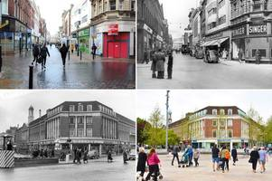 then and now pictures of hull show how dramatically city has changed over the years