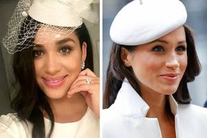 meghan markle air hostess double leaves airline passengers baffled