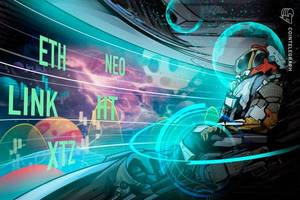 top 5 cryptos this week (feb 16): link, ht, xtz, eth, neo