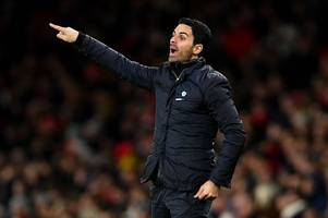 every word mikel arteta just said on pepe, lacazette, champions league and man city's ban