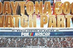 the daytona 500 watch party!