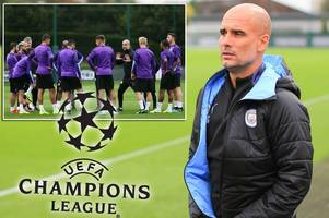 pep guardiola makes defiant league two declaration to man city team