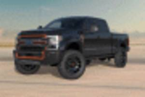 2020 ford f-250 harley-davidson edition debuts with $111,000 price tag