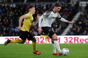 derby county u23 team news - midfielder hands rams a boost
