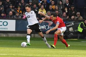 Bristol City battle Nottingham Forest and Derby County for League Two star - report