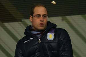 why does prince william support aston villa? future king drops fresh insight into why