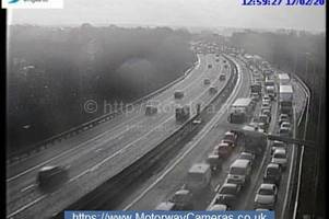 M5 traffic live: Long delays and 5 miles of congestion after crash
