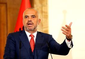 albania pm likens country to jilted lover in its effort to join eu