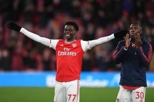 Arsenal chiefs ramp up Bukayo Saka contract talks as Mikel Arteta makes Olympiacos decision