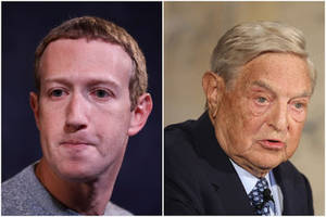 george soros slams mark zuckerberg for 'mutual assistance arrangement' with trump