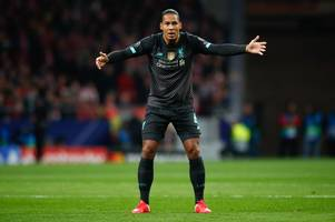 Virgil van Dijk outlines Jurgen Klopp's half time message to Liverpool in Atletico loss