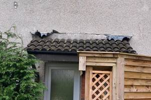 residents 'scared' as lead thieves target southmead homes during storm dennis