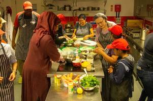 multi-cultural kitchen for the refugees and asylum seekers secures vital funding to continue