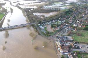 26 flood warnings remain in place for nottinghamshire on tuesday, february 18