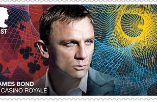 new james bond stamps released by royal mail ahead of no time to die