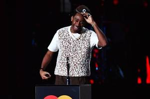 tyler the creator's brutal swipe at theresa may after winning brit
