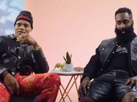 Watch: Houston Rockets' James Harden + Russell Westbrook Decode Their NBA Pre-Game Fashion Drips + Channel OutKast